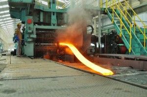 Produksi HRC (Hot Rolled Coil)